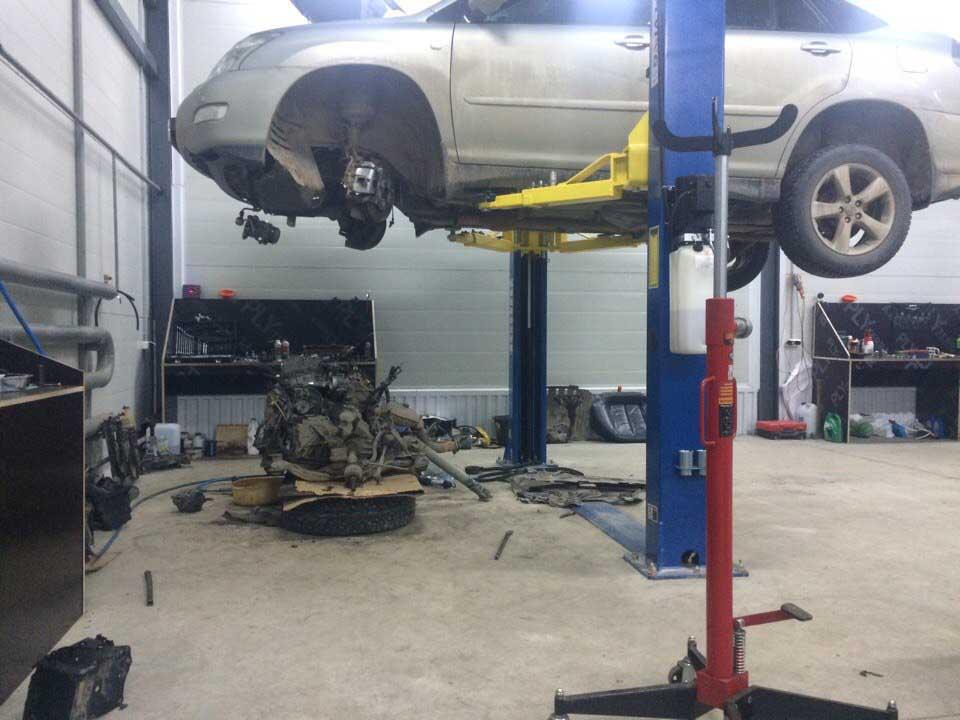 Капитальный ремонт двигателя Lexus rx 350