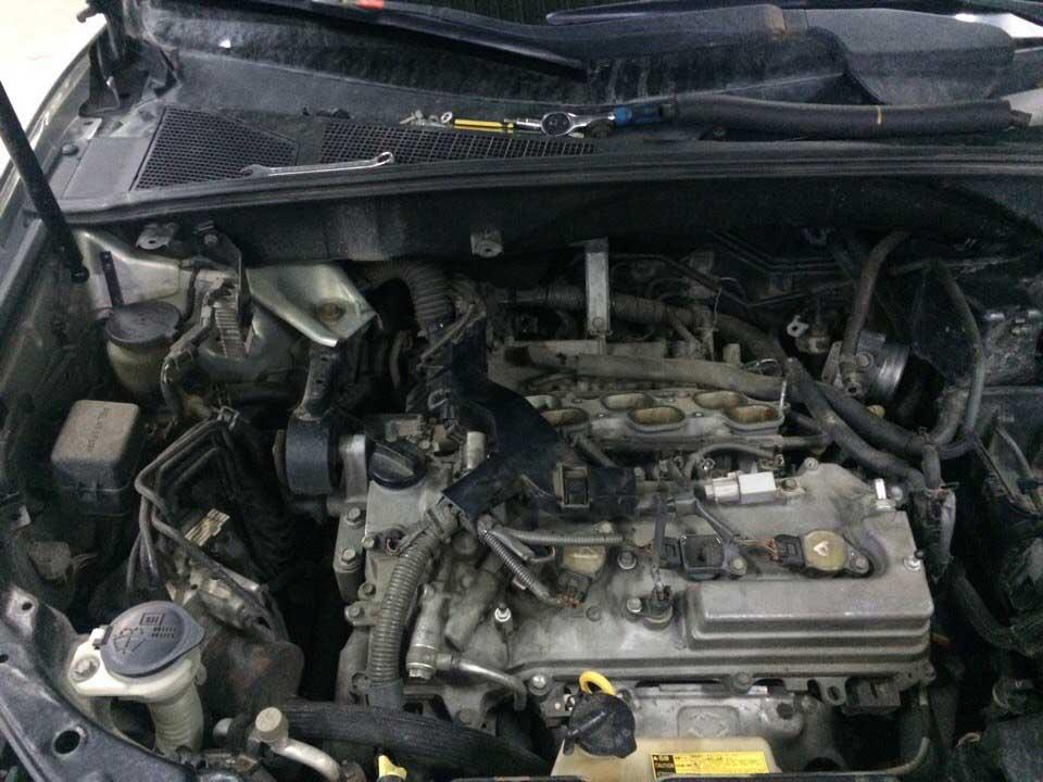 Замена свечей зажигания Lexus RX350