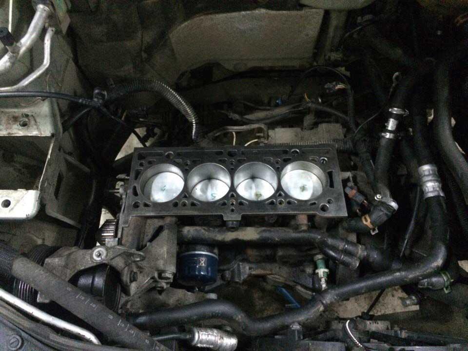 Капитальный ремонт двигателя Renault Symbol